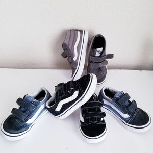 Vans Toddler Shoes Bundle